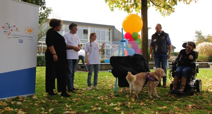 Ppg completes colorful communities project at royal dutch guide.