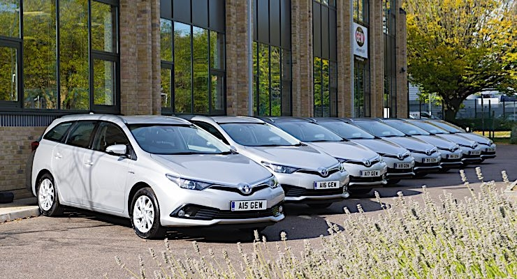 GEW goes green with fleet of hybrid cars