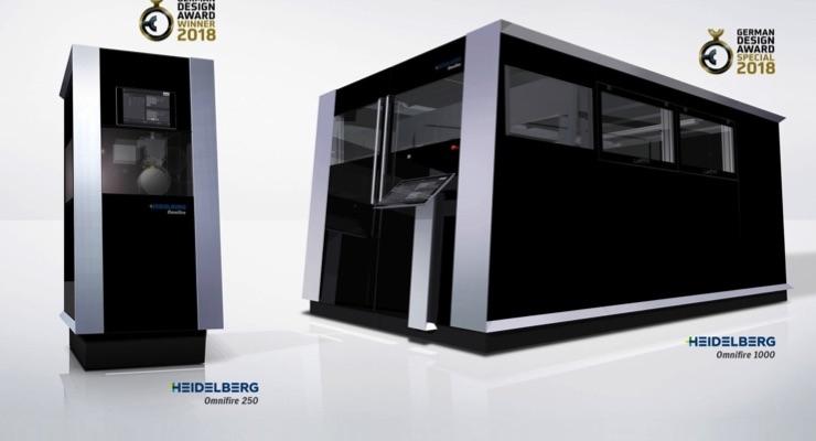 Heidelberg Wins Several Design Awards
