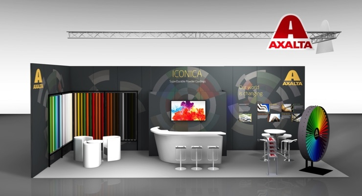 Axalta Presents ICONICA Powder Coatings Collection at BATIMAT Exhibition in Paris