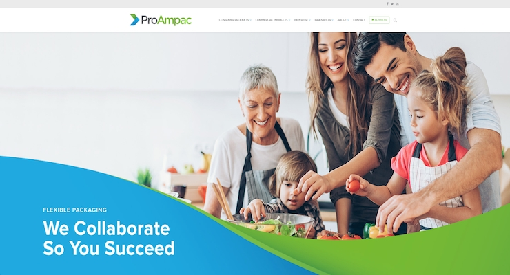 New ProAmpac Website Presents Expanded Capabilities