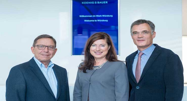 Dagmar Ringel Takes Over Marketing at Koenig & Bauer AG