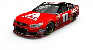 Axalta Debuts Cromax EZ on Dale Earnhardt Jr.'s Last NASCAR Cup Series Car at SEMA 2017
