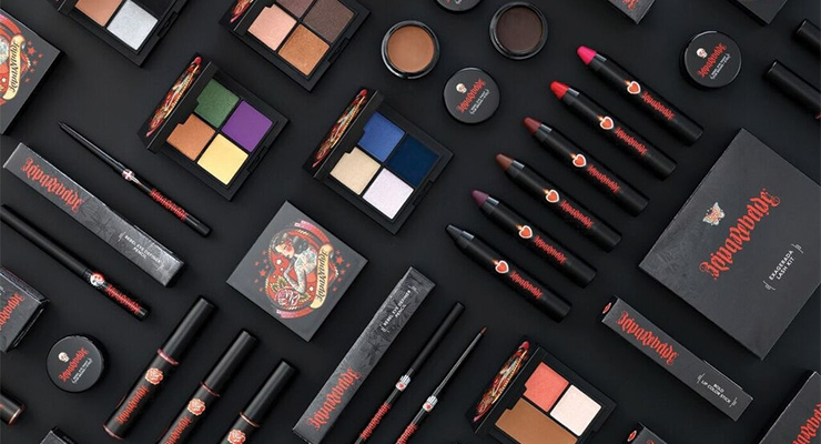 The Reina Rebelde cosmetics line features rich, provocative colors to engage and empower young Latinas.