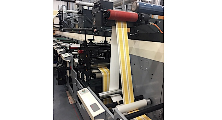 Abbey Labels adds second MPS flexo press