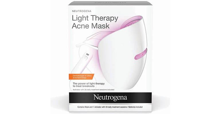 Neutrogena shed new light on treating problem skin  with the launch of its Light Therapy Acne Mask system.
