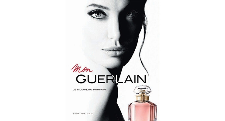 """We never invested so much in a fragrance [launch],"" said Laurent Boillot, chairman and CEO Guerlain, about Mon Guerlain, released in March, with Angelina Jolie as the face/spokesperson."