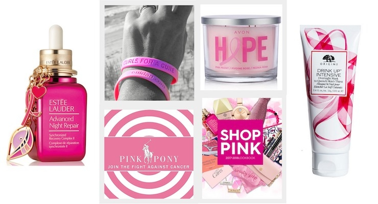 Beauty Brands Mark Breast Cancer Awareness Month