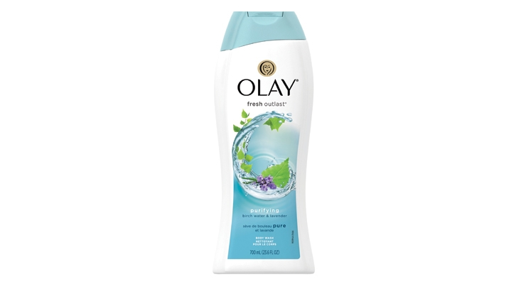 The latest from Olay: Fresh Outlast Birchwater & Lavender Body Wash.