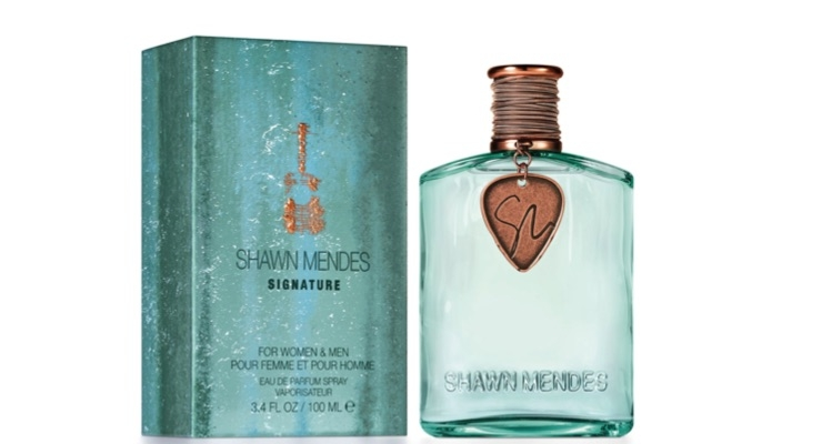 The Shawn Mendes fragrance is new for the season.