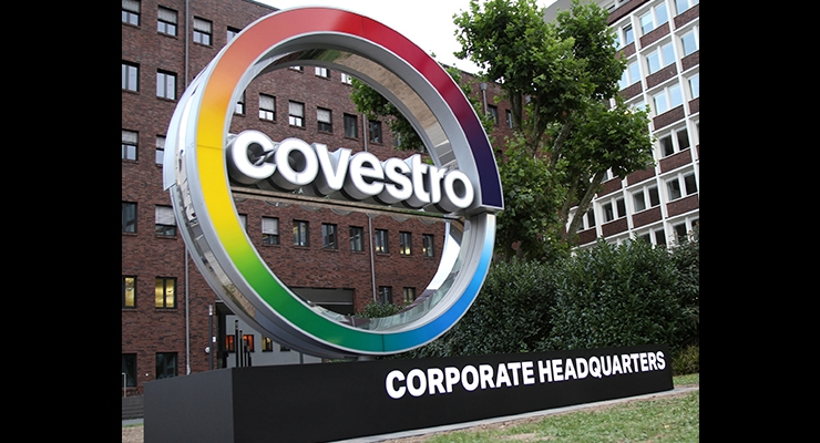 Covestro LLC Lifts Force Majeure on Specialty Chemicals in North America
