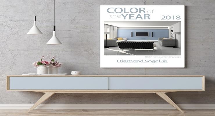 Diamond Vogel Paint Announces 2018 Color of the Year