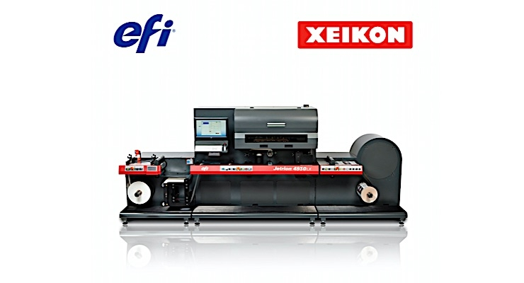 Xeikon and EFI form strategic partnership