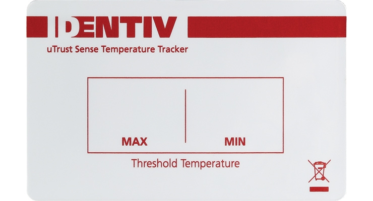 uTrust Sense Temperature Tracker. (Photo courtesy of Identiv)