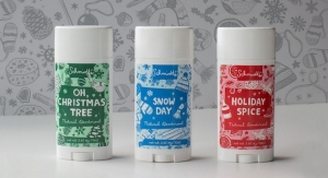 Festive Deodorant Packaging for the Holiday Season