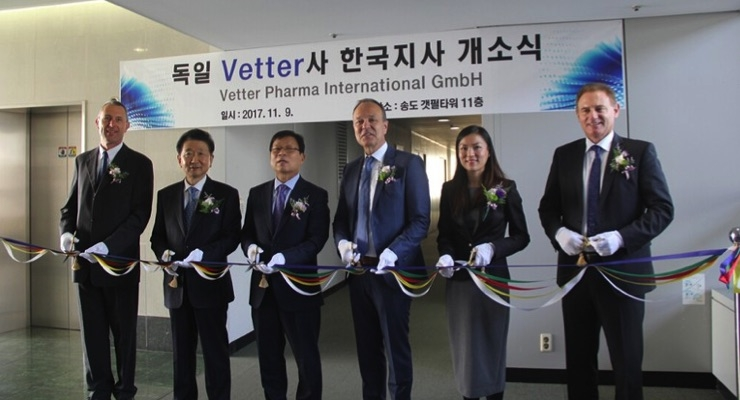 Another ribbon cutting ceremony takes place for Vetter in the Asia Pacific region.
