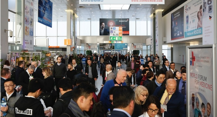 More than 127,000 visitors are expected to attend Medica, the world's largest medical trade fair, over the next four days. Image courtesy of Messe Düsseldorf.