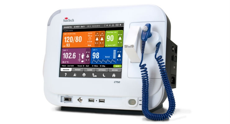 CT50 Vital Signs Monitor from SunTech Medical at Medica 2017