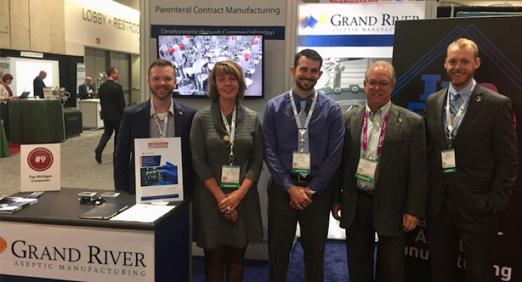 The Grand River team at AAPS 2017 in San Diego.