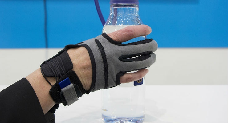 Carbonhand from Swedish firm Bioservo Technologies is the first robot aid on the market that is completely controlled by the user. It strengthens the grip and can compensate for a lack of strength or provide additional strength and endurance. Watch the technology in action in Hall 15/A23.