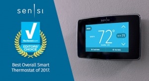 Emerson's Sensi Touch Named 'Best Smart Thermostat' by USA Today's Reviewed.com