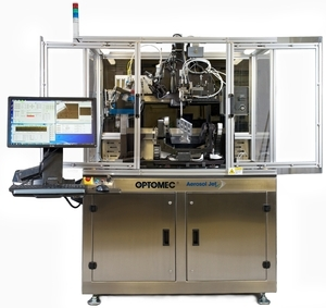 Optomec Demonstrates Production 3D Printing Technology at Printed Electronics USA