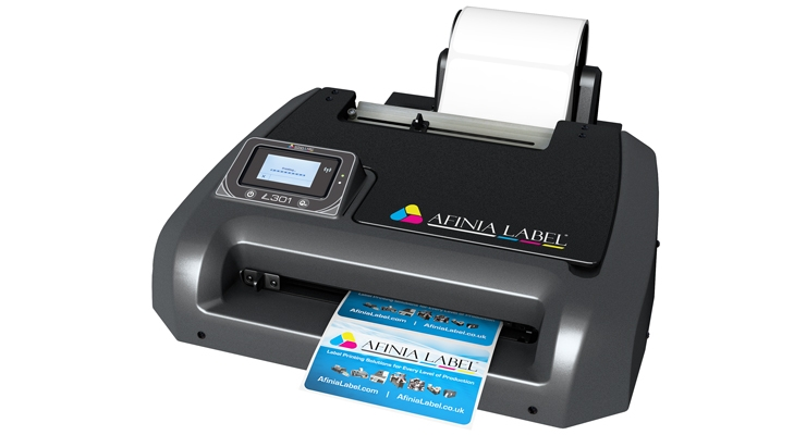 The L301 from Afinia Label uses HP thermal inkjet technology.