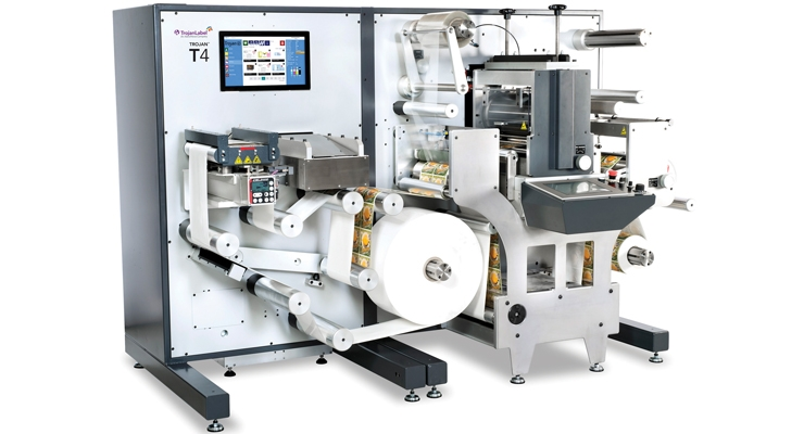 AstroNova's Trojan T4 inkjet press