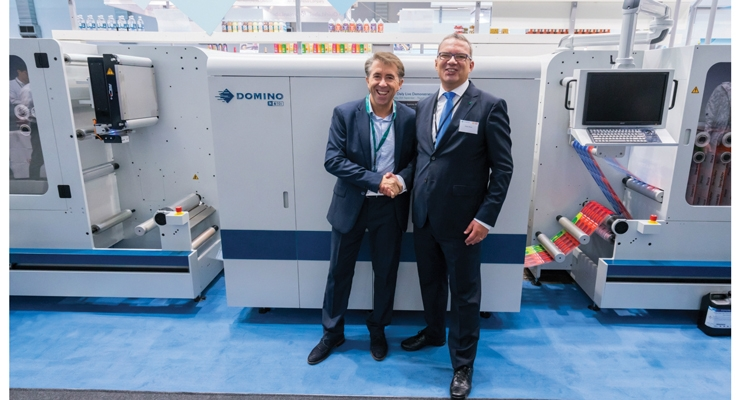 This Domino N610i inkjet press was purchased by Autajon Group.