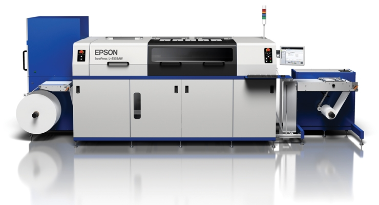 The new Epson SurePress L-4533 Series