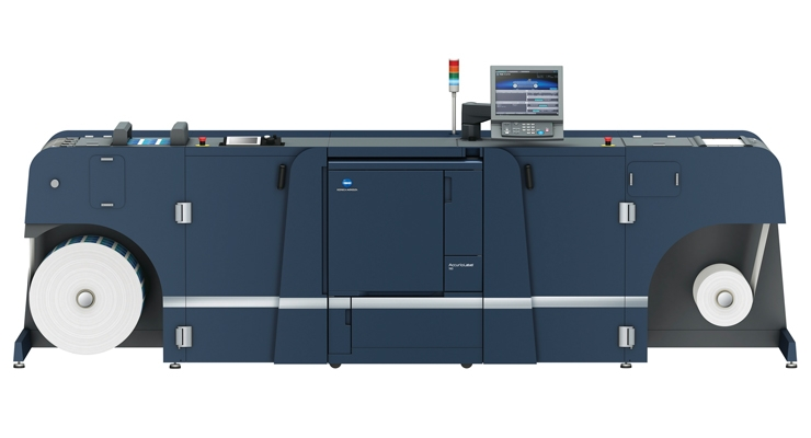 Konica Minolta's new AccurioLabel 190  digital press