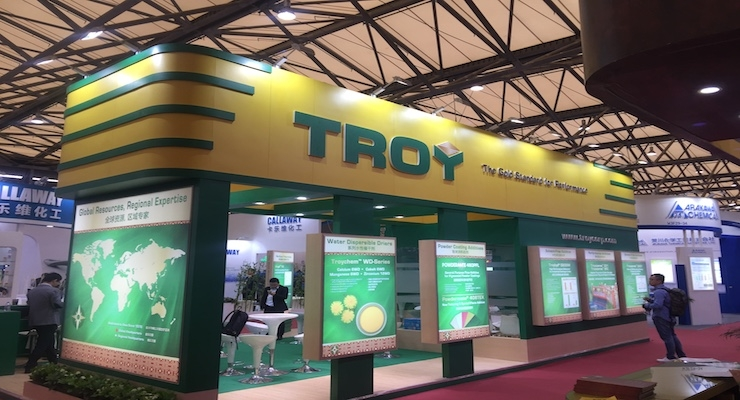Troy Exhibiting at CHINACOAT