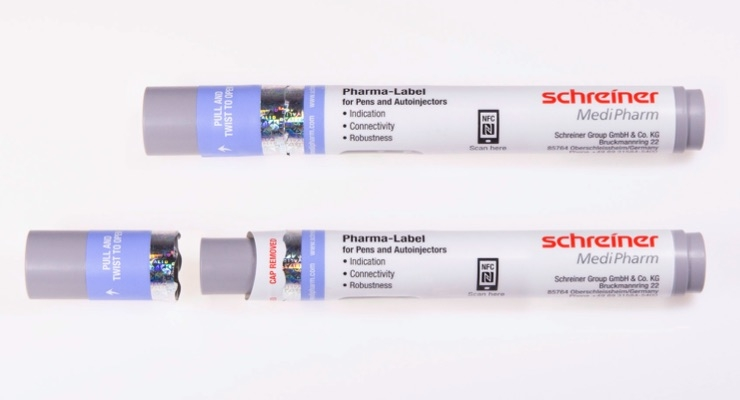 Schreiner MediPharm adds new features to Autoinjector-Labels