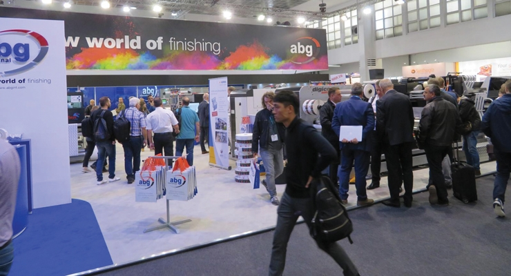 ABG launched its new screen module while exhibiting a wide range of finishing machinery.