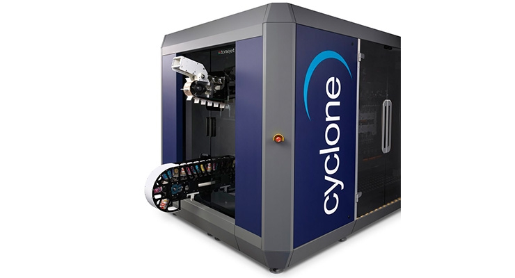 tonejet-unveils-first-production-cyclone-at-inprint-2017