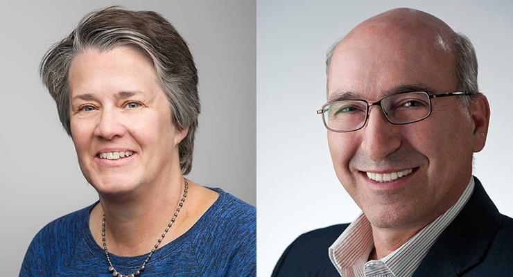Nancy Haegel & Ahmad Pesaran (Photos by Dennis Schroeder/NREL)