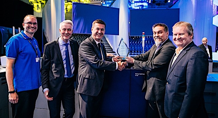 Konica Minolta's AccurioPress C6100 wins international award