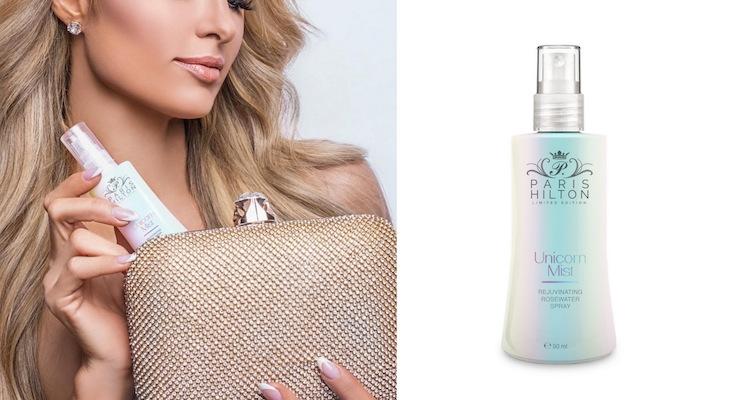 Paris Hilton Promotes Her Unicorn Mist