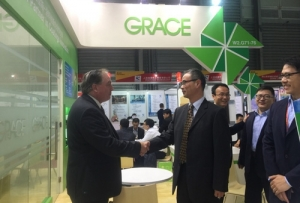 Grace Showcased Sustainable Product Offerings at CHINACOAT