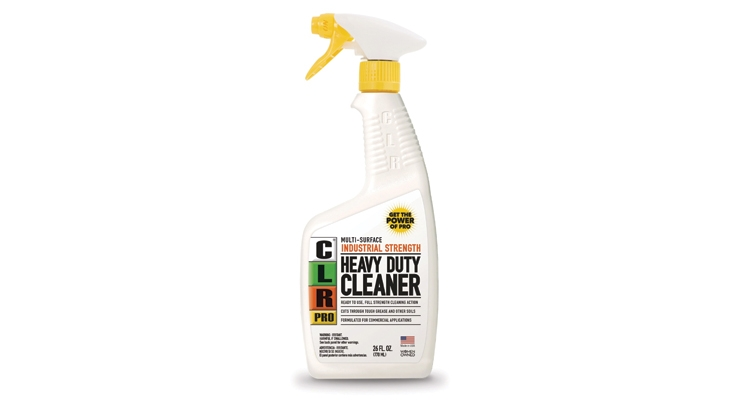 The CLR Pro lineup includes  a heavy duty cleaner.