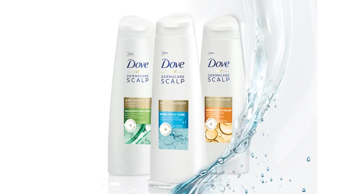 Dove is turning its  attention to scalp care