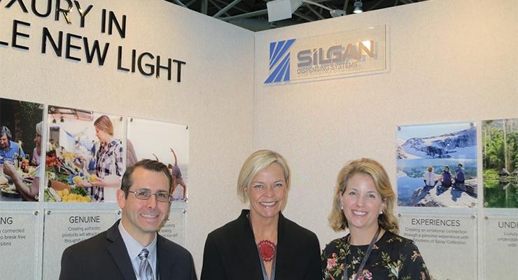 Silgan (L-R): John Ferro, Sandy Gregory, Gwynne Teass
