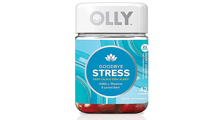 OLLY's Goodbye Stress claims benefits for  calmness and alertness within 30-60 minutes.