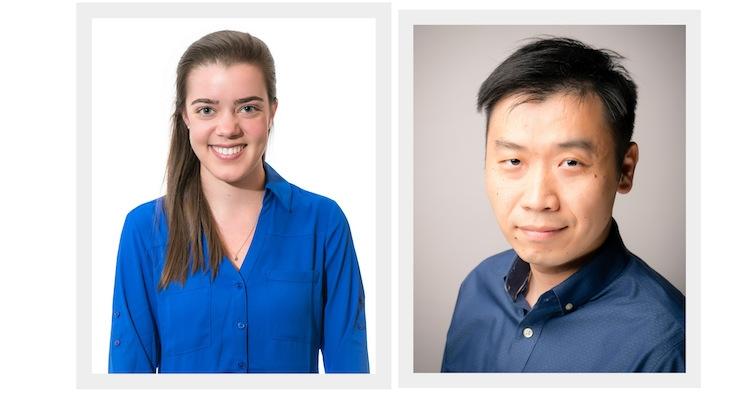 The authors, Julia Lang and Alex Xiaoguang Zhu
