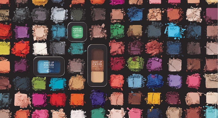 Make Up For Ever To Launch 124 Eye Shadows
