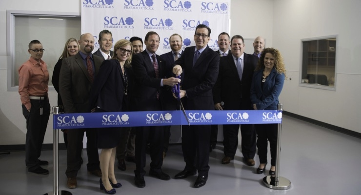 SCA Leadership team with Connecticut Sr. Senator Richard Blumenthal and Connecticut Governor Dannel Malloy.