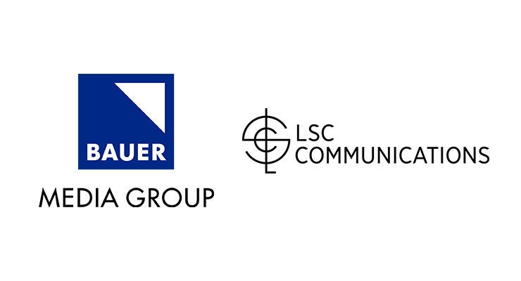 LSC Communications Awarded Multi-Year Print Agreement with Bauer Media Group USA