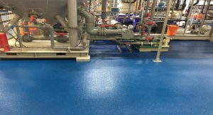 Chemical Resistant Epoxy Novolac Flooring System Specified for Effluent Treatment Plant