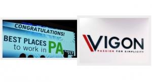Vigon is Named One of Pennsylvania