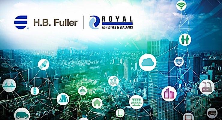 H.B. Fuller acquires Royal Adhesives & Sealants